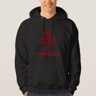 Wahre Liebe für Single-Mann-T-Shirt Hoodie