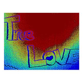 Wahre Liebe Postkarte