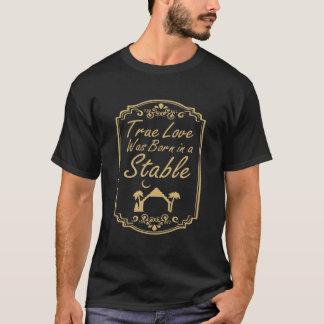 Wahre Liebe war in einem stabilen christlichen T - T-Shirt