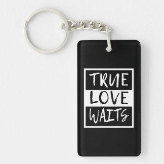 Wahre Liebe-Wartezeiten Schlüsselanhänger