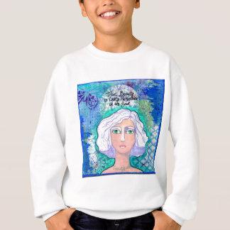 Wahre Schönheit ist Liebe Refl002.jpg Sweatshirt