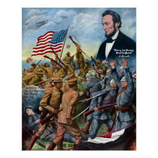 Wahre Söhne der Freiheit -- WWI Poster