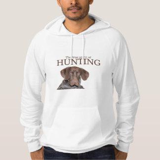 Wahrer Geist des glatten Graubären von Jagd Hoodie