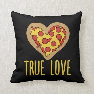 Wahrer Valentine Liebe der Pizza Kissen