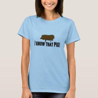 Wahres Blut ~ kenne ich dieses Schwein T-Shirt