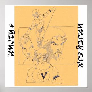 Wahres Glauben-Veröffentlichen: Einheit sechs Poster