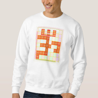WAHRES Safran-Farbe-OM-BESCHWÖRUNGSFORMEL Sweatshirt