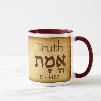 WAHRHEIT EMET Hebräer-Tasse Tasse