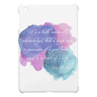 Wahrheit Janes Austen- allgemeinhin bestätigt iPad Mini Hülle