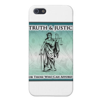 Wahrheit u. Gerechtigkeit - Dame Justice iPhone 5 Schutzhüllen