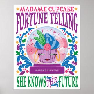 Wahrsagerei Madame-Cupcake Poster