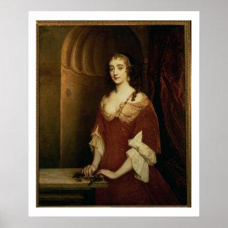 Wahrscheinliches Porträt von Nell Gwynne (1650-87) Poster