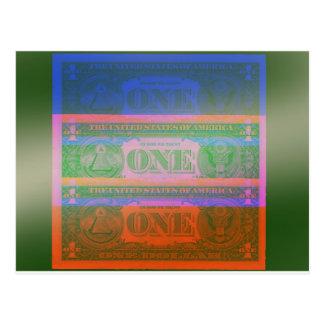 Währung Postkarte