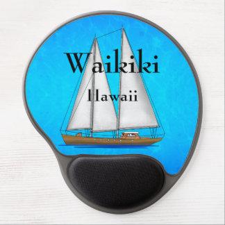 Waikiki Hawaii Gel Mouse Matten