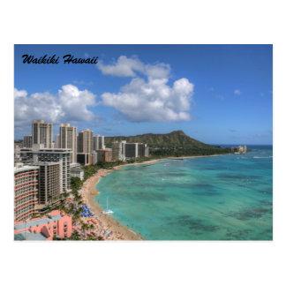 Waikiki Postkarte