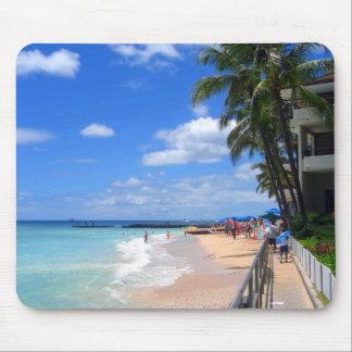 Waikiki Strand, Oahu, Hawaii Mousepads