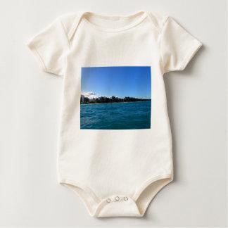 Waimanalo Bucht und Strand Baby Strampler