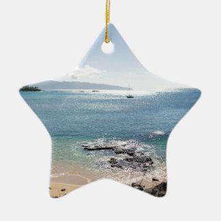 waimea Buchtpanorama Keramik Ornament