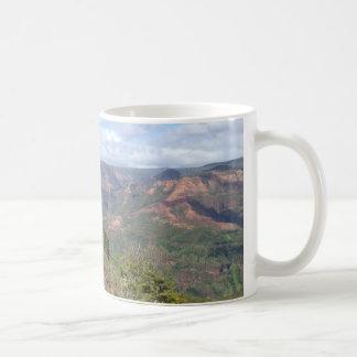Waimea Schlucht Kauai Hawaii Kaffeetasse