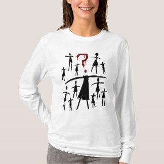 Waisenschwarzes | Helena - Klon-Skizze T-Shirt