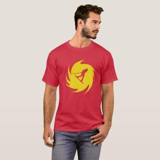 Wakeboard Gelb-Strudel-T - Shirt