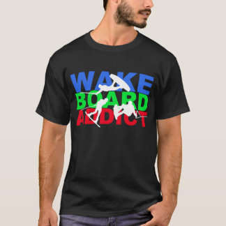 Wakeboard Süchtig-T - Shirt