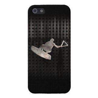Wakeboarder; Cooles Schwarzes Etui Fürs iPhone 5