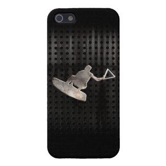 Wakeboarder Cooles Schwarzes Schutzhülle Fürs iPhone 5
