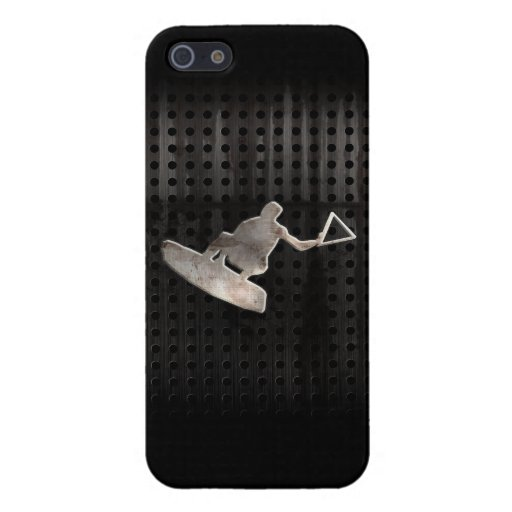 Wakeboarder; Cooles Schwarzes Schutzhülle Fürs iPhone 5