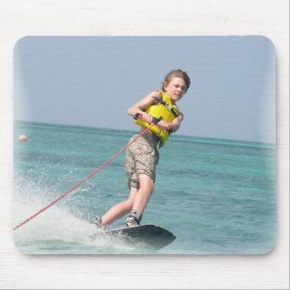 Wakeboarding jugendlich Mausunterlage Mauspad