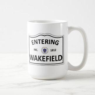 WAKEFIELD MASSACHUSETTS Hometown-Masse MA Townie Kaffeetasse