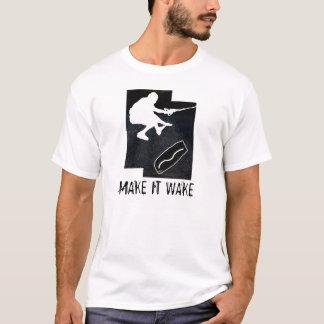 wakeskate, LASSEN ES WECKEN T-Shirt