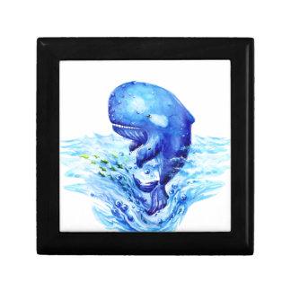 Wal-Aquarell Erinnerungskiste