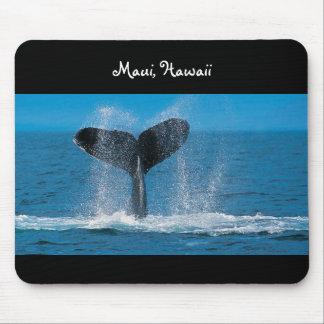 Wal-Aufpassen Mauis Hawaii Mousepad