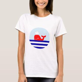 Wal-Druck-Seeart-T - Shirt