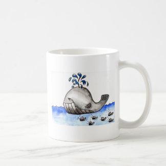 Wal-Familie Kaffeetasse
