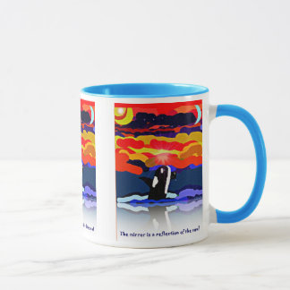 Wal-Reflexionskunst-Tasse Tasse