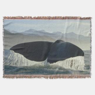Wal-Schwanz Decke
