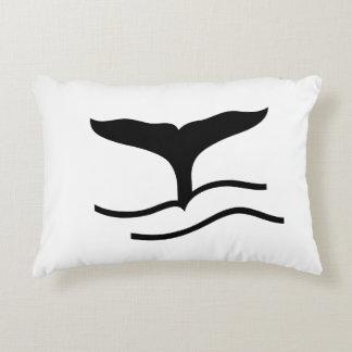 Wal-Schwanz Dekokissen