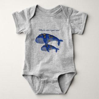 Wal sind nicht Sie niedlich! Baby-Kleinkind Baby Strampler