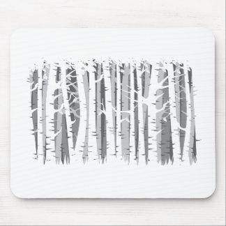Wald der hohen Bäume - Grau Mauspad