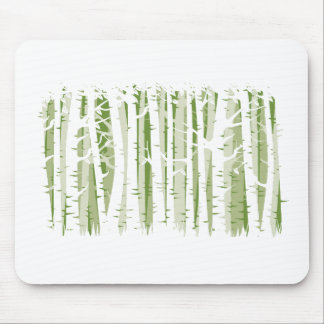 Wald der hohen Bäume - Grün Mauspads