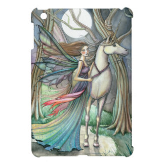 Wald der Traum-Fee und des Einhorn-Kunst iPad Mini iPad Mini Hülle