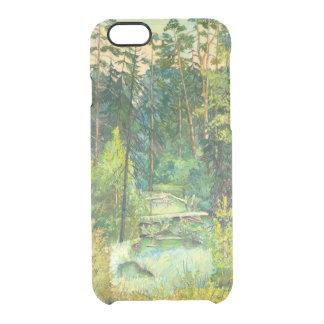 Wald Durchsichtige iPhone 6/6S Hülle