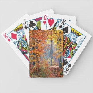 Wald im Fall Bicycle Spielkarten