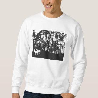 Wald mit Rotwild Sweatshirt