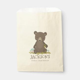 Waldabenteuer wenig CUB-Baby-Bär Geschenktütchen