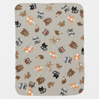 Waldbaby-Brei herauf Blanket* hellbraun Baby-Decken