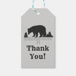 Waldbär danken Ihnen Geschenkumbau Geschenkanhänger