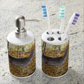 Waldbewohner Zahnbürstenhalter